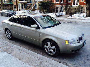 2005 Audi A4 Quattro 1.8L- NEED TO SELL QUICKLY!