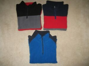 Boys Size 5/6 Fleece Sweaters
