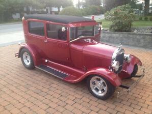 1929 Ford Tudor Sedan Streetrod