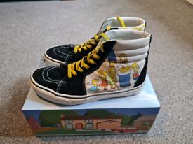 Vans x Simpsons Size 7