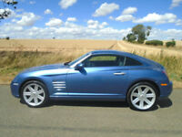 CHRYSLER CROSSFIRE 3.2 MANUAL 2DR AERO BLUE - 215 BHP V6 - LOW MILEAGE