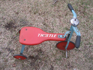 Rare All Metal Thistle Tricycle... Delivery to St.John's in Nov.