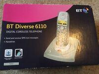 BT Diverse 6110 Dect telephone