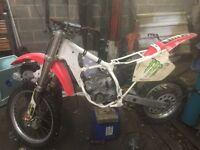 Honda cr 125 possibly evo ? Not yz kx rmmotorcross bike