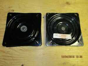 2 swivel seat mounts.  Suitable for boat etc.