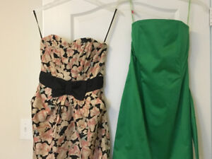 2 formal dresses- 1 Brand New and 1 Gently Worn