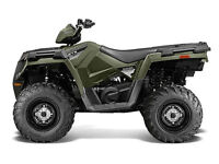 FULL SIZE ATV POLARIS WITH A ONE YEAR WARRANTY INCLUDES WINCH