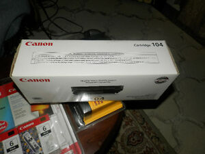 Sealed Canon 104 toner,