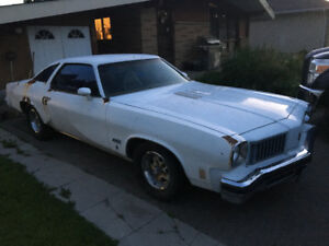 1975 Oldsmobile cutlass supreme 442 Seline
