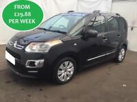 FROM £129.51 PER MONTH CITROEN C3 PICASSO 1.6TD EXCLUSIVE MPV MANUAL DIESEL