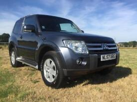 Mitsubishi Shogun 3.2 DI-DC SWB Equippe Auto One Owner From New With FSH