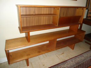 MCM Teak and Glass Cabinets