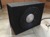 JBL GTO 1202D 1200W Car Subwoofer *LIKE NEW*