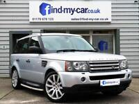 2007 07 Land Rover Range Rover Sport 2.7 TDV6 Auto HSE Silver with Black