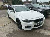 BMW 320 2.0TD ( 184bhp ) ( s/s ) AUTO M SPORT. WHITE. 2014