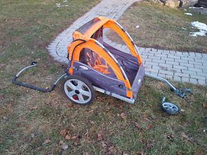 Instep Bike Trailer and Double Stroller
