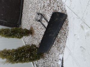 Bronco 60 inch atv snow plow with push tube and mount $400 obo