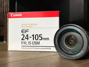 Canon 24-105mm EF f/4L IS USM