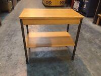 Side desk table shelf