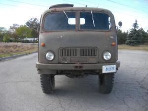 All Original 1955 Tatra 805 Cold War Era Military Truck COE