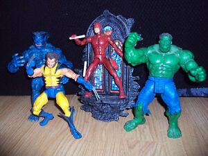 Marvel and DC Super-Hero Toys