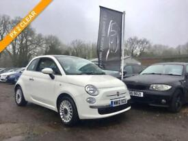 2012 12 FIAT 500 1.2 LOUNGE 3DR 69 BHP