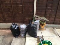 5 bags of soil