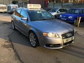 Audi A4 TDi S Line DIESEL MANUAL 2005 GREAT SPEC 60+MPG FSH LONG MOT 6M WARRANTY