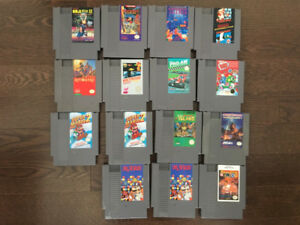 NES and SNES Games - Prices Listed