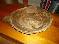 Antique Dough Bowl