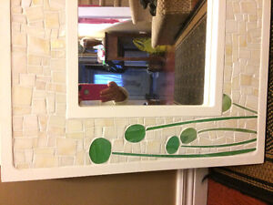 Custom made mosaic Mirror picture