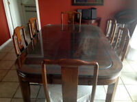 Table antique de Hong Kong (RARE)