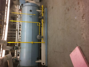 200HP Hot Water CLEAVER BROOKS BOILER