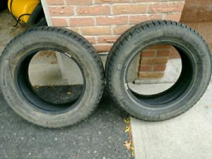 2 - Michelin X Ice Winter Tires 215/60r16
