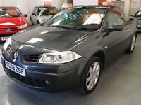 2008 RENAULT MEGANE 1.6cc CONVERTIBLE - ONLY 54,000 MILES