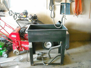 commercial parts washer
