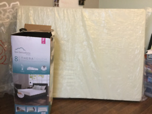 Full size memory foam mattress for sale $180