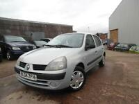RENAULT CLIO AUTHENTIQUE 1.2 PETROL 5 DOOR HACTHBACK