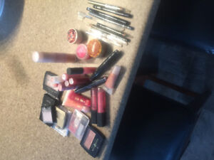 Makeup lot, many products never opened