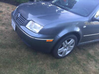 2005 Volkswagen Jetta Black Sedan