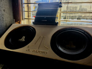 JL Audio speakers with 450w Alpine Amp