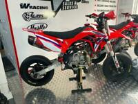 PITBIKE 140CC CWR 140 SUPERMOTO FACTORY EDITION 2020 MINIBIKE MOTOCROSS C90 BMB