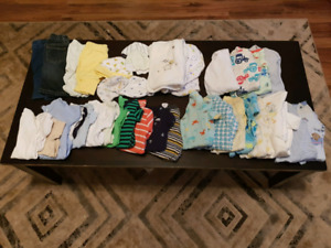 1 - 3 months baby boy clothes