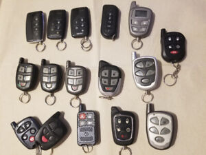 telecommandes manettes remote demarreur a distance car starter