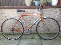 Carlton Mens Town Bike 18 Inch Frame 5 Speed Excellent Condition