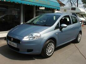 2010 Fiat Grande Punto 1.4 8v 3 Door Sound (1 owner)