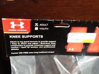Under Armour Catcher knee supports