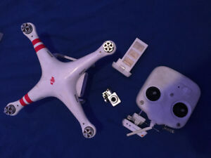 DJI Phantom 2 Vision + (broken camera but drone still works