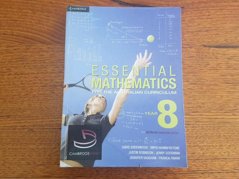 Cambridge Essential Mathematics Year 8 | Textbooks