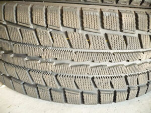 4 DUNLOP GRASPIC DS3 WINTER TIRES 195 65 15 ICE SNOW   NO TEXT